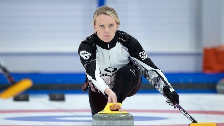 Виктория Райт. Фото Britishcurling