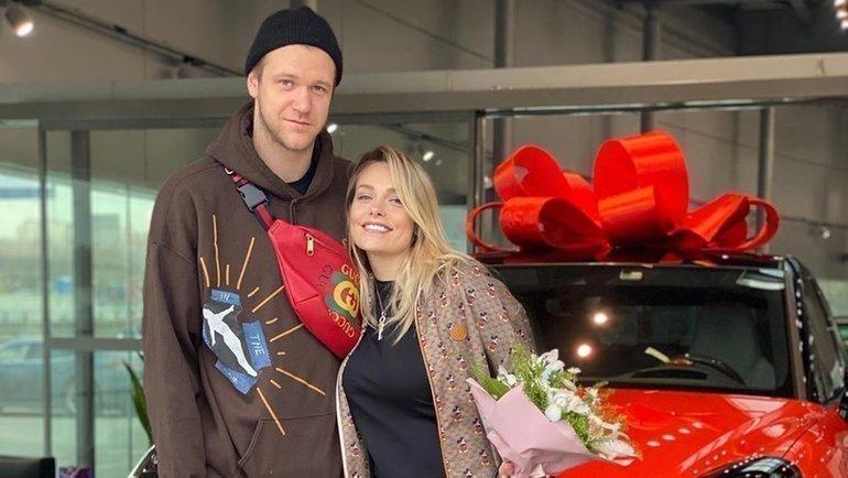 Андрей Зубков сженой Марией. Фото Instagram