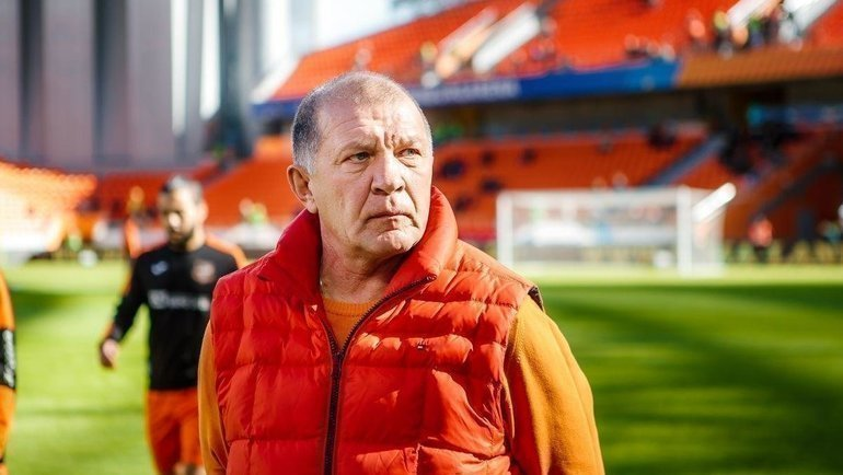 "Григорий Иванов. Фото ФК ""Урал""."