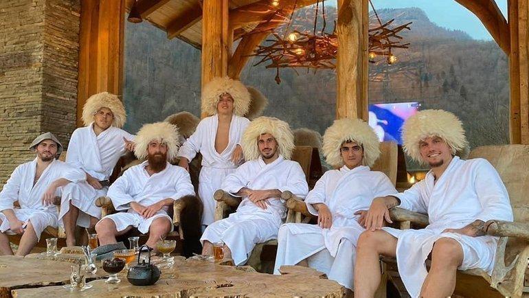Игроки «Сочи». Фото ФК «Сочи».