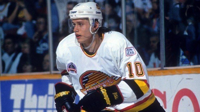 Павел Буре в «Ванкувере». Фото НХЛ