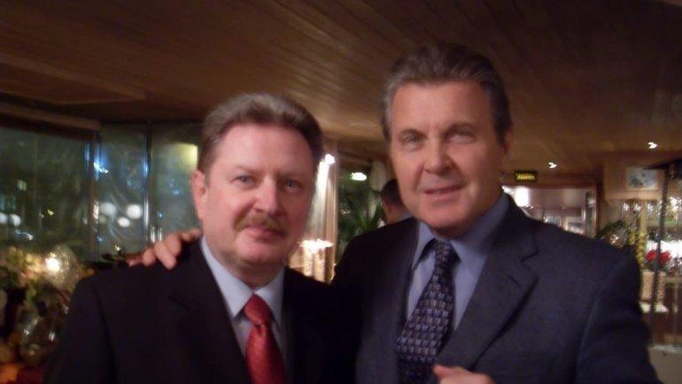 Владимир Славин иЛев Лещенко. Фото изличного архива Владимира Славина