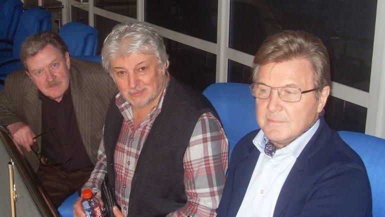 Владимир Славин, Вячеслав Добрынин иЛев Лещенко. Фото изличного архива Владимира Славина