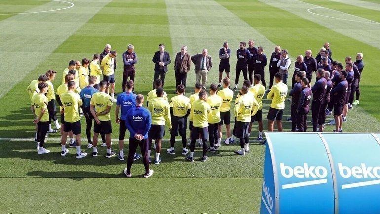 «Барселона». Фото Twitter
