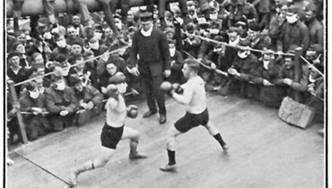 Страшная пандемияXX века неостановила бокс.