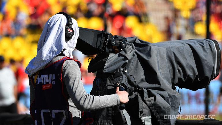 """Как выживает спортивноеТВ вовремя пандемии? Фото Александр Федоров, """"СЭ"""""""