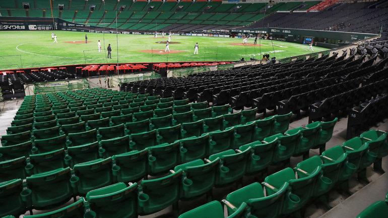 Бейсбольный стадион. Фото Getty Images