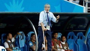 Главный тренер сборной Уругвая отправлен вотставку из-за коронавируса