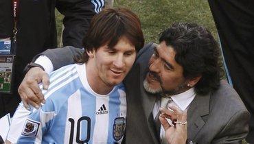 Антонио Кассано: «Марадона делал то, что никто невидел, 4-5 лет, ноМесси делает тожесамое уже 15 лет»