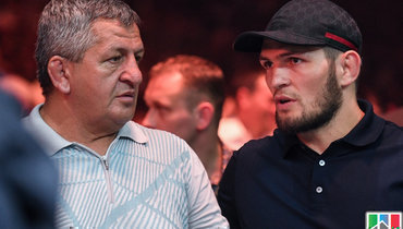 Отец Хабиба заявил, что бой сФергюсоном непройдет вСША