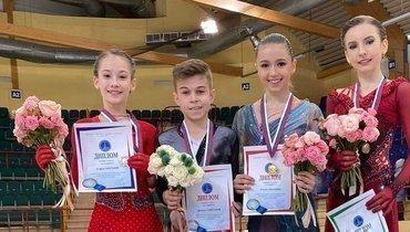 (слева-направо) Софья Акатьева, Даниил Самсонов, Камила Валиева иДарья Усачева. Фото Instagram