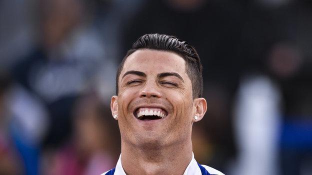 Улыбка Криштиану Роналду. Фото AFP