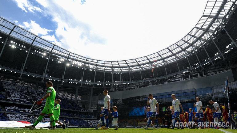 Клубы ждут решения РПЛ повозобновлению сезона. Фото Дарья Исаева, «СЭ» / Canon EOS-1D X Mark II