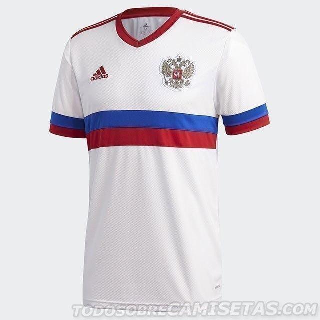 Форма сборной России насезон-2020/21. Фото Todo Sobre Camisetas