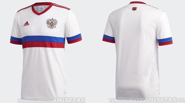 Сборная России: форма наЕвро-2020/2021. Новый вариант? Фото Todo Sobre Camisetas