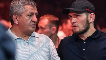 Отец Хабиба: «Белоруссия— один излучших вариантов для боя Хабиба иФергюсона»