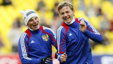 Герой четвертьфинала сГолландией наЕвро-2008 назвал трех лучших российских футболистов XXI века