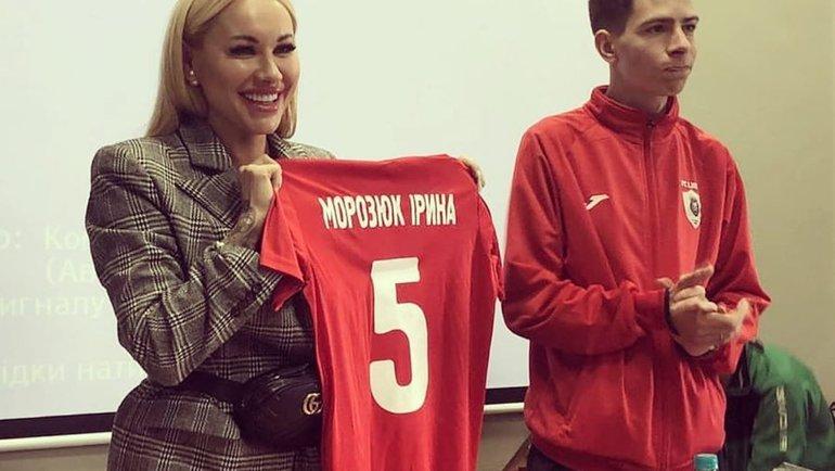 Ирина Морозюк. Фото Instagram