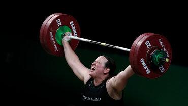 Новозеландская тяжелоатлетка Лорел Хаббард.