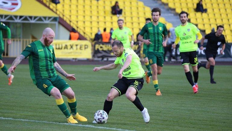 «Шахтер» несумел обыграть «Неман», россиянин Васильев провел полный матч