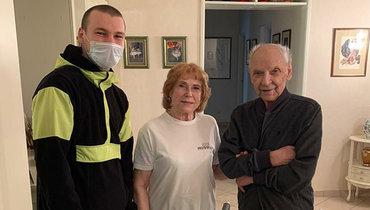 Болельщики привезли продукты ветеранам «Динамо»