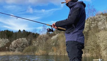 Лорду карантин нестрашен: Бендтнер ловит рыбу вКопенгагене