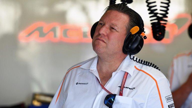 Зак Браун. Фото «Формула-1»
