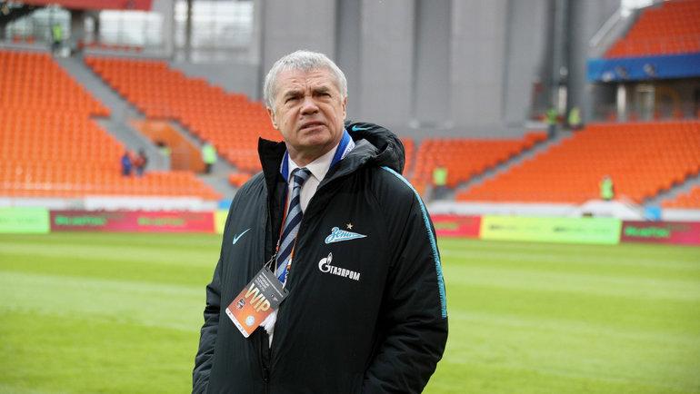 Александр Медведев. Фото Вячеслав Евдокимов, ФК «Зенит»