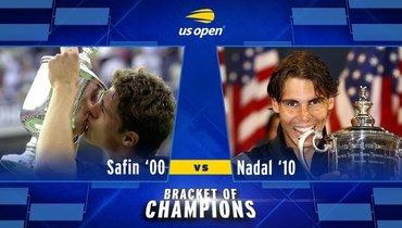 20 лет спустя Сафин снова выигралUS Open. Вфинале «повержен» Надаль