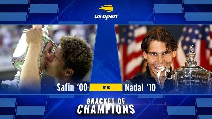 Марат Сафин выиграл виртуальный US Open у Рафаэля Надаля. Фото US Open