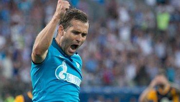 Кержаков был капитаном «Зенита» один день. Этому матчу— 10 лет