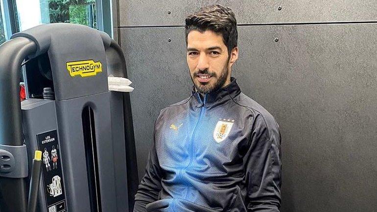 Луис Суарес. Фото Instagram