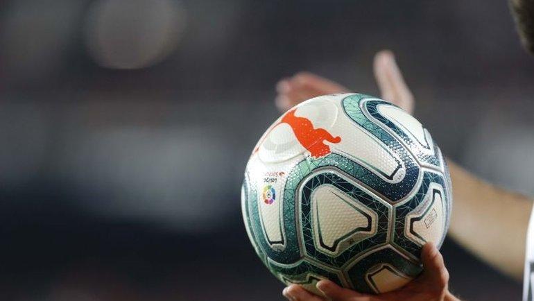 Официальный мяч чемпионата Испании. Фото Ла лига