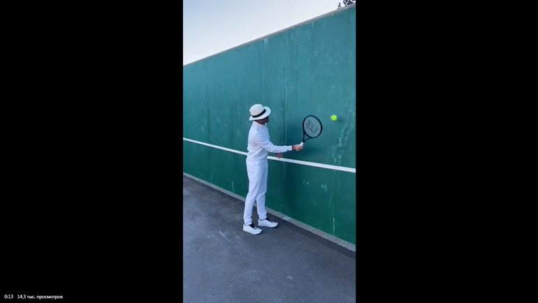 Роджер Федерер. Фото Twitter