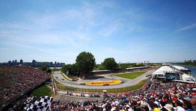 """Гран-при Канады"". Фото ""Формула-1""."