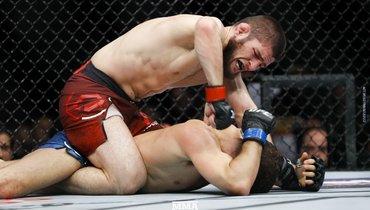 Хабиб два года назад стал чемпионом UFC. Чтобы бой состоялся, пришлось взвешивать трусы