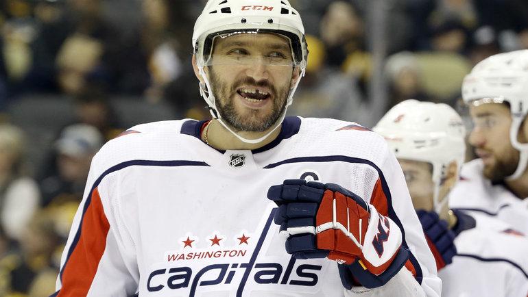 Александр Овечкин. Фото USA Today Sports