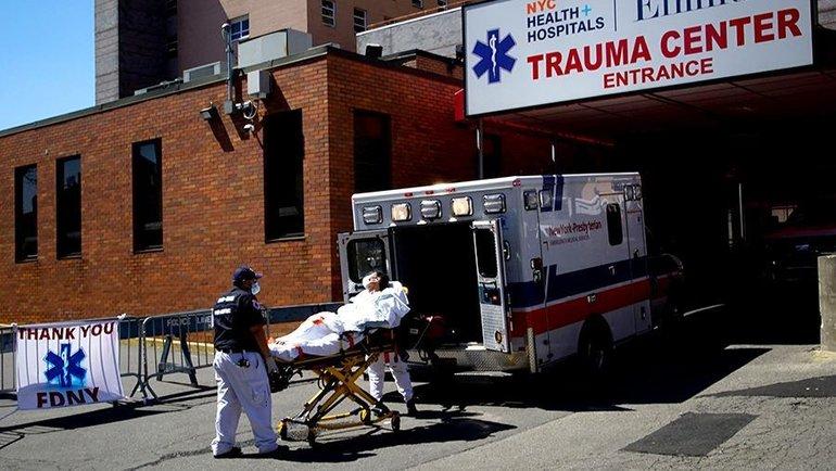 США вышли навторое место почислу смертей откоронавируса. Фото Reuters
