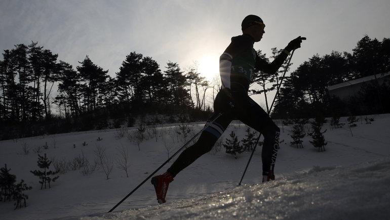 Эстонец Альго Кярп. Фото Reuters