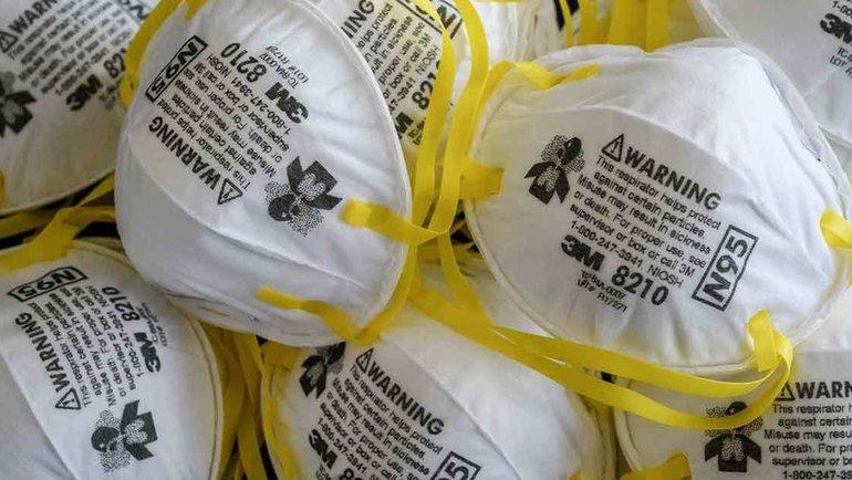 Защитные маски, которые использовались вБангкоке для защиты отраспространения коронавируса. Фото AFP