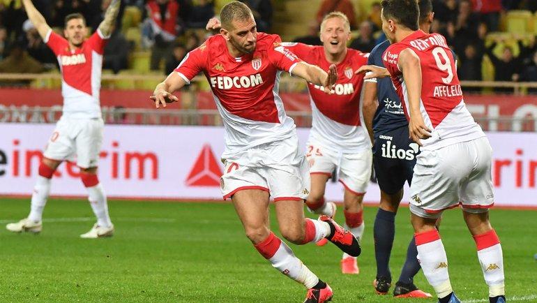 Игроки «Монако». Фото AFP