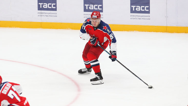 Кирилл Капризов. Фото ХКЦСКА