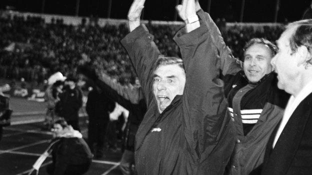 1996 год. Георгий Ярцев празднует чемпионство «Спартака». Фото Александр Федоров, «СЭ»