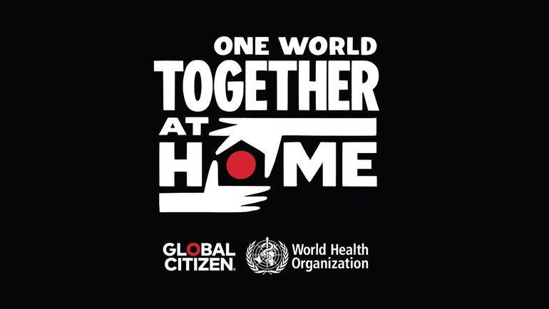 Логотип благотворительного вечера. Фото Global Citizen.