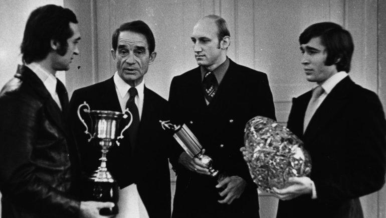 Геннадий Логофет, Николай Старостин, Сергей Ольшанский, Евгений Ловчев.