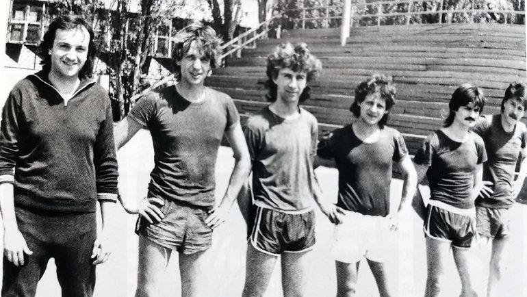 Группа Юрия Давыдова. Фото изархива Юрия Давыдова