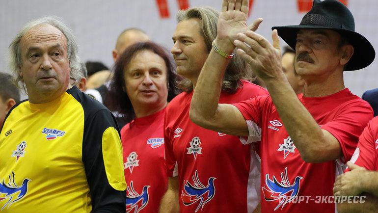 Юрий Давыдов, Виктор Зинчук, Дмитрий Маликов, Михаил Боярский. Фото Александр Федоров, «СЭ»