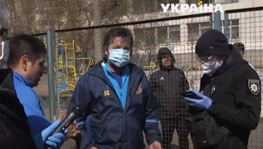 Полиция Киева обвинила Саленко внарушении карантина. Экс-футболист устроил скандал