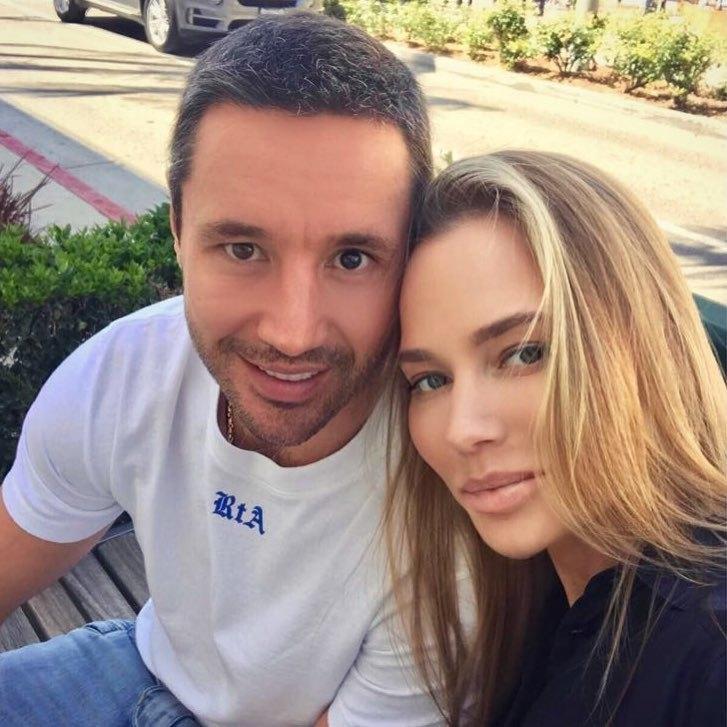 Илья и Николь Ковальчук. Фото Instagram