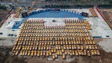 Китай после коронавируса. ВГуанчжоу строят стадион на100 тысяч зрителей